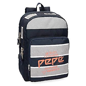 Pepe Jeans Pierre Backpack Double Compartment - 44 cm