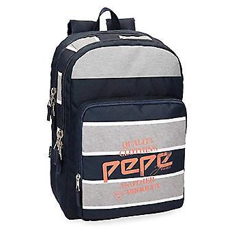Pepe Jeans Pierre ryggsäck Dubbelkupé-44 cm