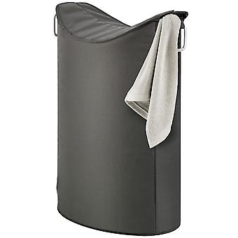 Laundry collector aluminium combined with synthetic fiber, anthracite