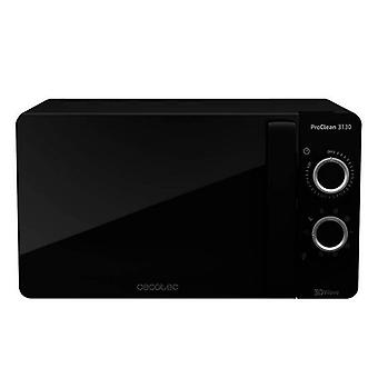 Microwave with Cecotec ProClean 3130 20 L 700W Grill black