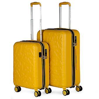 Conjunto de 2 malas de viagem ABS com alívio modelo Zion