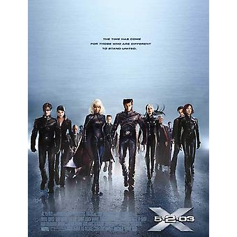 X-Men 2 X2 (Double Sided International Style E) (2003) Original Cinema Poster