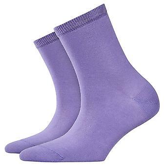 Burlington Lady Short Socks - Purple