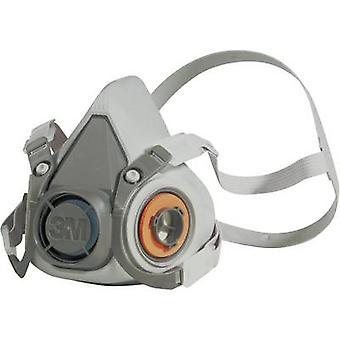 3M 6300 6300L Half mask respirator w/o filter Size (XS - XXL): L