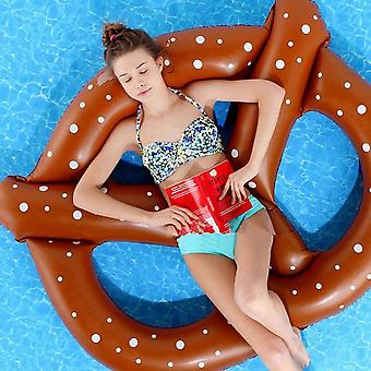 Inflatable Preztel ! Gigantic Floating Pretzel Pool Float Swimming Water Fun - Extra Large