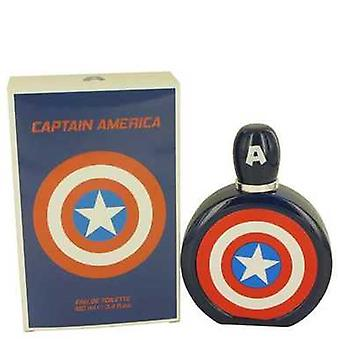 Kaptan Amerika Tarafından Marvel Eau De Toilette Sprey 3.4 Oz (erkek) V728-436040