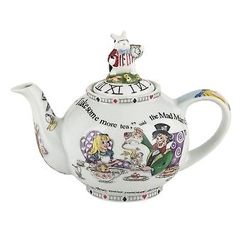 Cardew Alice in Wonderland 18 oz 2 Cup Teapot