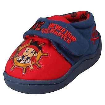 Boys Disney Slippers Jake And Neverland Pirates
