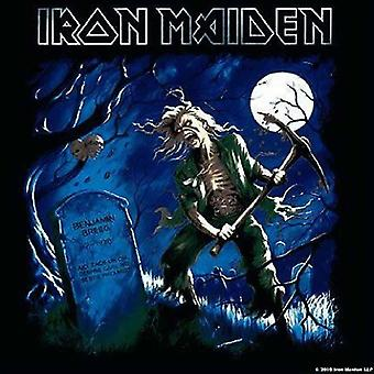 Iron Maiden montaña Benjamin Breeg nueva bebida única de oficial de 9,5 x 9,5 cm