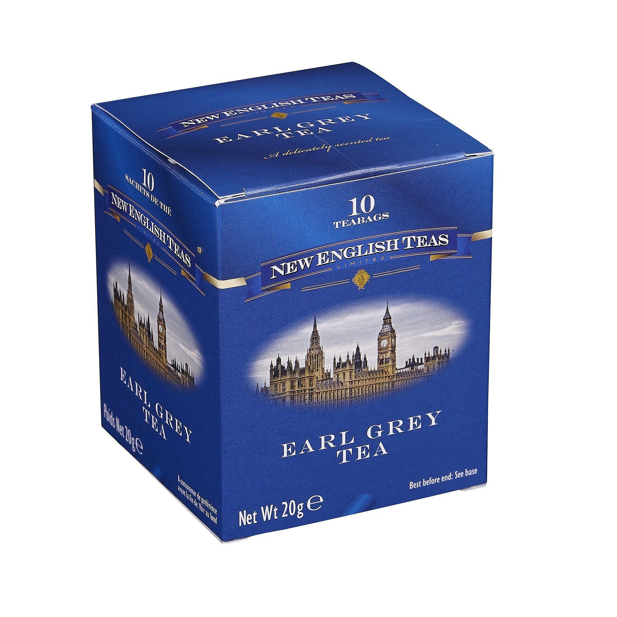 Classic earl grey tea 10 individually wrapped teabags