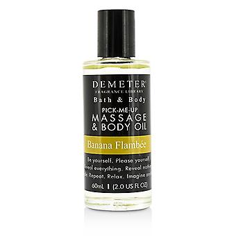 Demeter Banana Flambee Massage & Body Oil 60ml/2oz