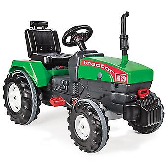 Pilsan children's tractor Super 07294 green with air horn, towbar from 3 years