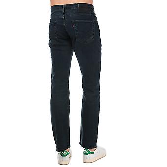 Mens Levis 514 Straight Jeans In Denim- Zip Fly- Tonal Stitching- Five Pocket