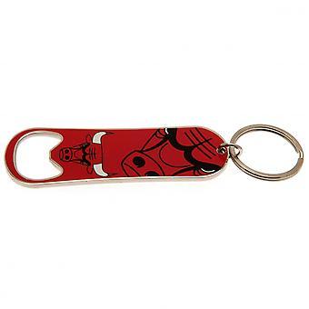 Chicago Bulls Bottle Opener Keychain
