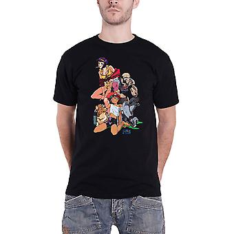 Cowboy Bebop T Shirt Group new Official Anime Mens Black