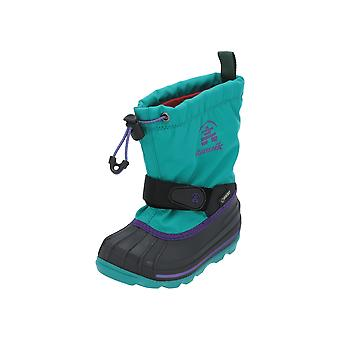 Kamik WATERBUG8G Kids Boots Blue Lace Boots Boots Winter