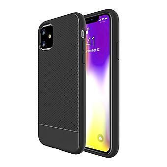 For iPhone 11 Case Snap Armour Thin Light Protective Shockproof Cover, Black