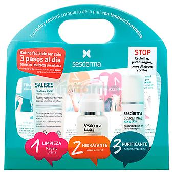 Sesderma Salises Pack Antiacné (cosmetice, face, cadouri & ambalaje)