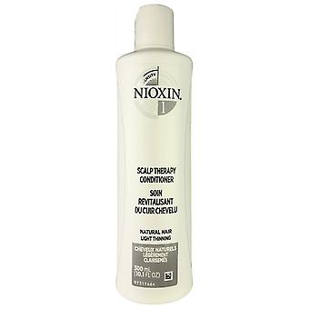 Nioxin scalp therapy system #1 conditioner for natural light thinning hair 10.1 oz