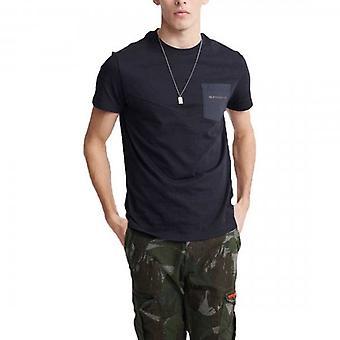 Superdry Urban Tech Nylon Tasche T-Shirt Schwarz 02A