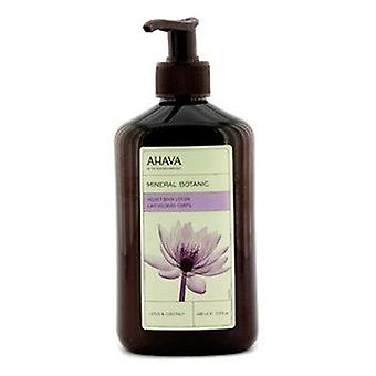 Mineral botanic velevt body lotion   lotus & chestnut 400ml/13.5oz