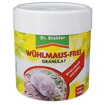 DR. STÄHLER Wühlmausfrei Granulat, 150 g