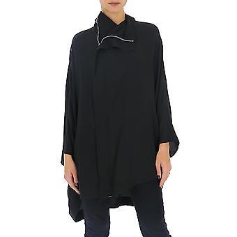 Rick Owens Rp20s1767cc09 Women's Black Polyester Outerwear Jacket