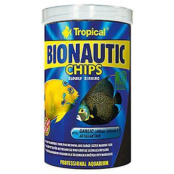 Tropical Chips Bionautic 250 Ml (Fish , Food , Saltwater)
