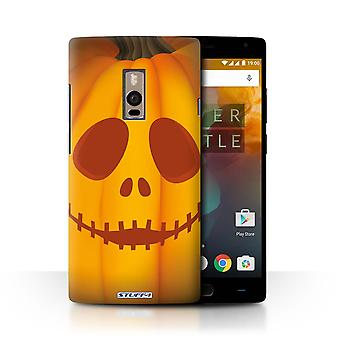 STUFF4 Gehäuse/Deckel für OnePlus 2/2/Ghost/Halloween Kürbis