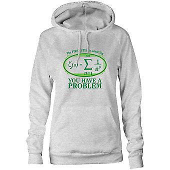 Womens Sweatshirts Hooded Hoodie- You Have A Problem With Math Formulas