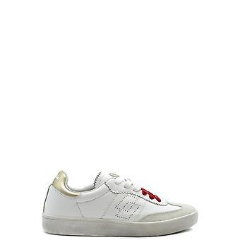 Lotto Ezbc139019 Women's White/gold Leather Sneakers