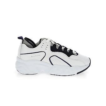 Acne Studios Bd000253k4multiwhite Herren's Sneakers aus weißem Leder