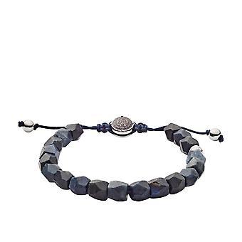 Diesel DX1138040 - Nylon Bracelet jewellery bracelet beads Sodallite Blue Man