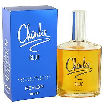 Charlie blauw Eau De Toilette Spray door Revlon 3.4 oz Eau De Toilette Spray