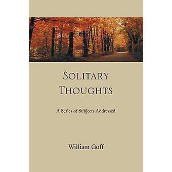 Enslig tanker en rekke fag adressert av Goff & William