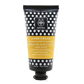 Intensive Moisturizing Hand Cream With Hyaluronic Acid & Honey - Rich Texture - 50ml/1.72oz