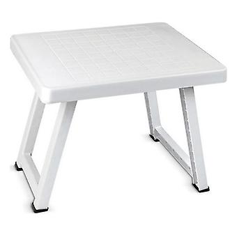 Table pliante Confortime (51 x 40 x 40 cm)/Blanc