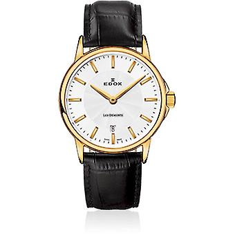 Edox - ساعة اليد - السيدات - Les Bémonts - Ultra Slim - 57001 37J AID
