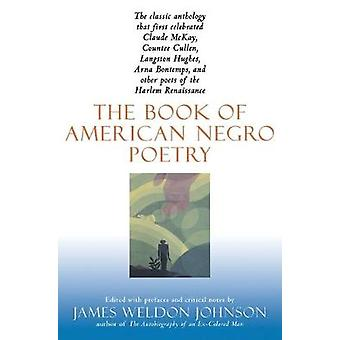 Book of American Negro Poetry by James Weldon Johnson - 9780156135399