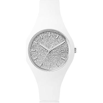 Ice Watch Watch Unisex ICE glitter Vit Silver Small 001344