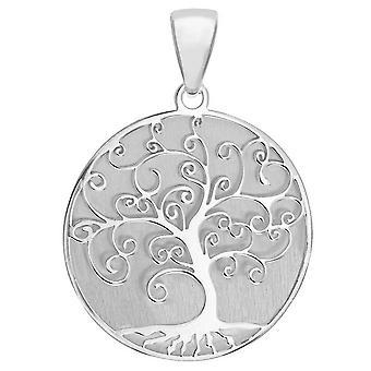 KJ Beckett livets träd hänge - Silver