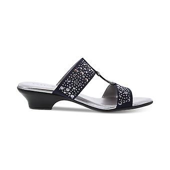 Karen Scott Womens EANNA stof peep toe casual dia sandalen