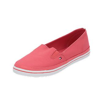 Tommy Hilfiger K1285ESHA 7D Women's Loafer Pink Slip-Ons Business Shoes
