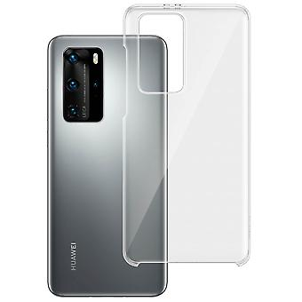 Hard Polycarbonate Protective Case for Huawei P40 Pro- Huawei- Transparent