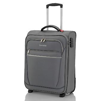 travelite Handbagage Trolley S, 2 rollen, 52 cm, 39 L, grijs