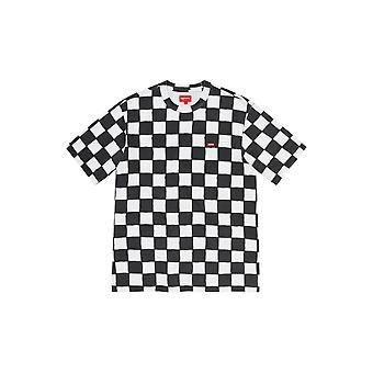 Supreme Small Box Tee (Ss20) Checkerboard - Roupas