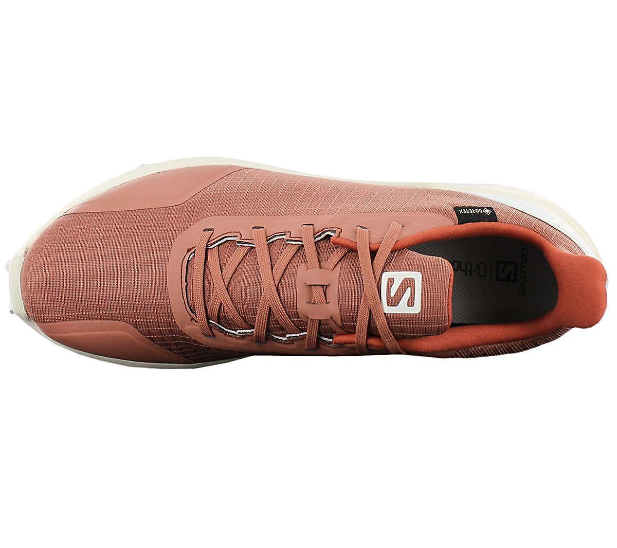 Salomon Alphacross Gtx - Gore-tex Herren Trail-running Schuhe Braun 409611 Sneakers Sportschuhe