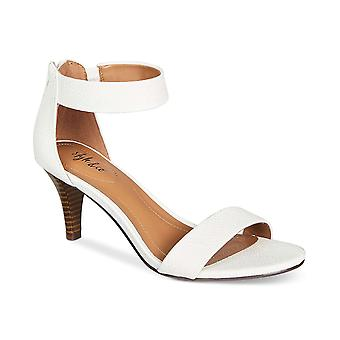 Style & Co. Womens Paycee Leather Open Toe Special Occasion Ankle Strap Sandals