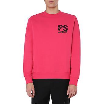Ps Door Paul Smith M2r027rap175622 Men's Fuchsia Katoen Sweatshirt