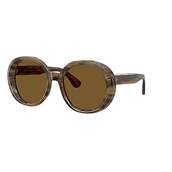 Oliver Peoples Leidy OV5426SU 168983 Sepia Smoke/Brown Polarised Sunglasses
